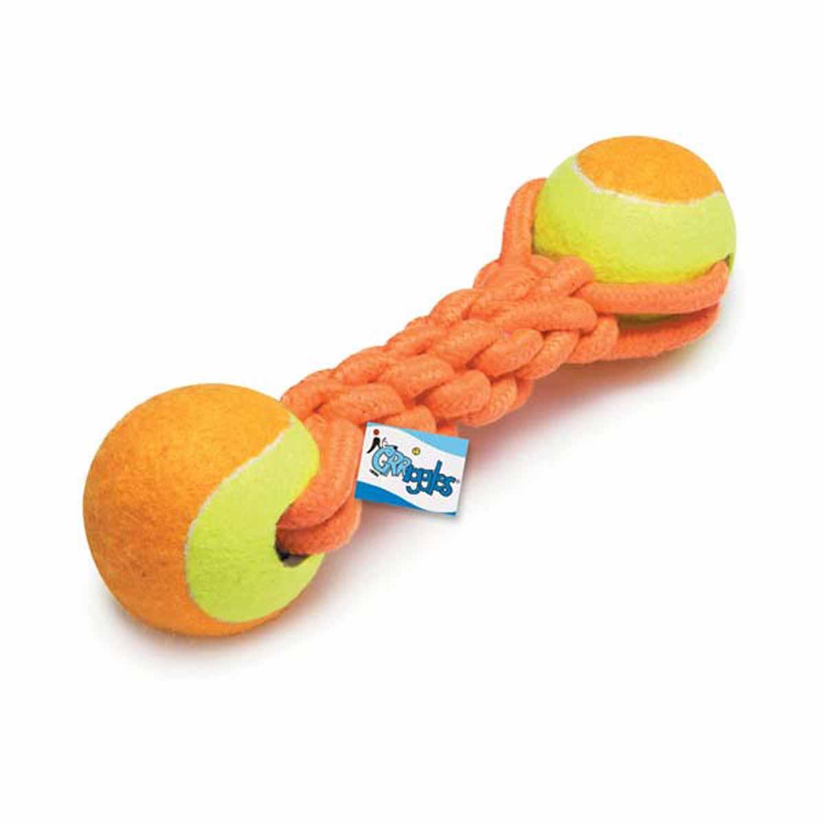 Grriggles Ruff Rope Mega Tennis Tugger Dog Toy
