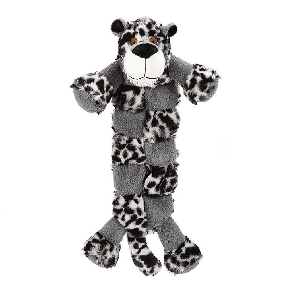 Grriggles Safari Squeaktacular Dog Toy - Leopard