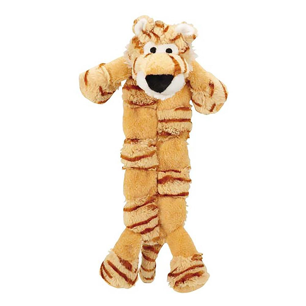 Grriggles Safari Squeaktacular Dog Toy - Tiger