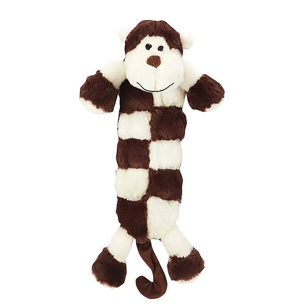 Grriggles Safari Squeaktacular Dog Toy - Monkey