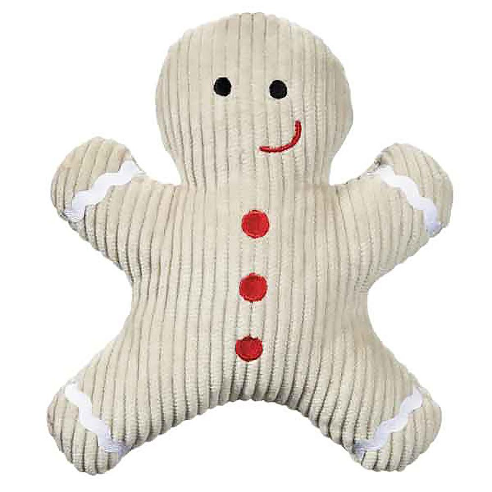 Grriggles Scented Gingerbread Man Dog Toy - Almond