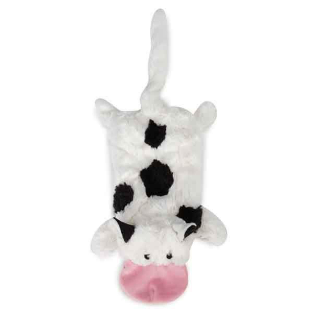 Grriggles Farm Friend Unstuffies Dog Toy - Cow