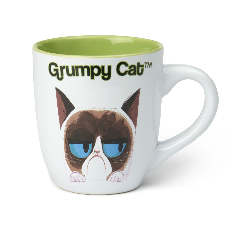 Grumpy Cat Mug - Green