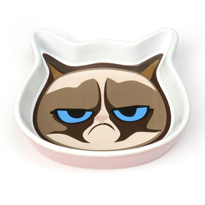 Grumpy Cat Saucer - Pink