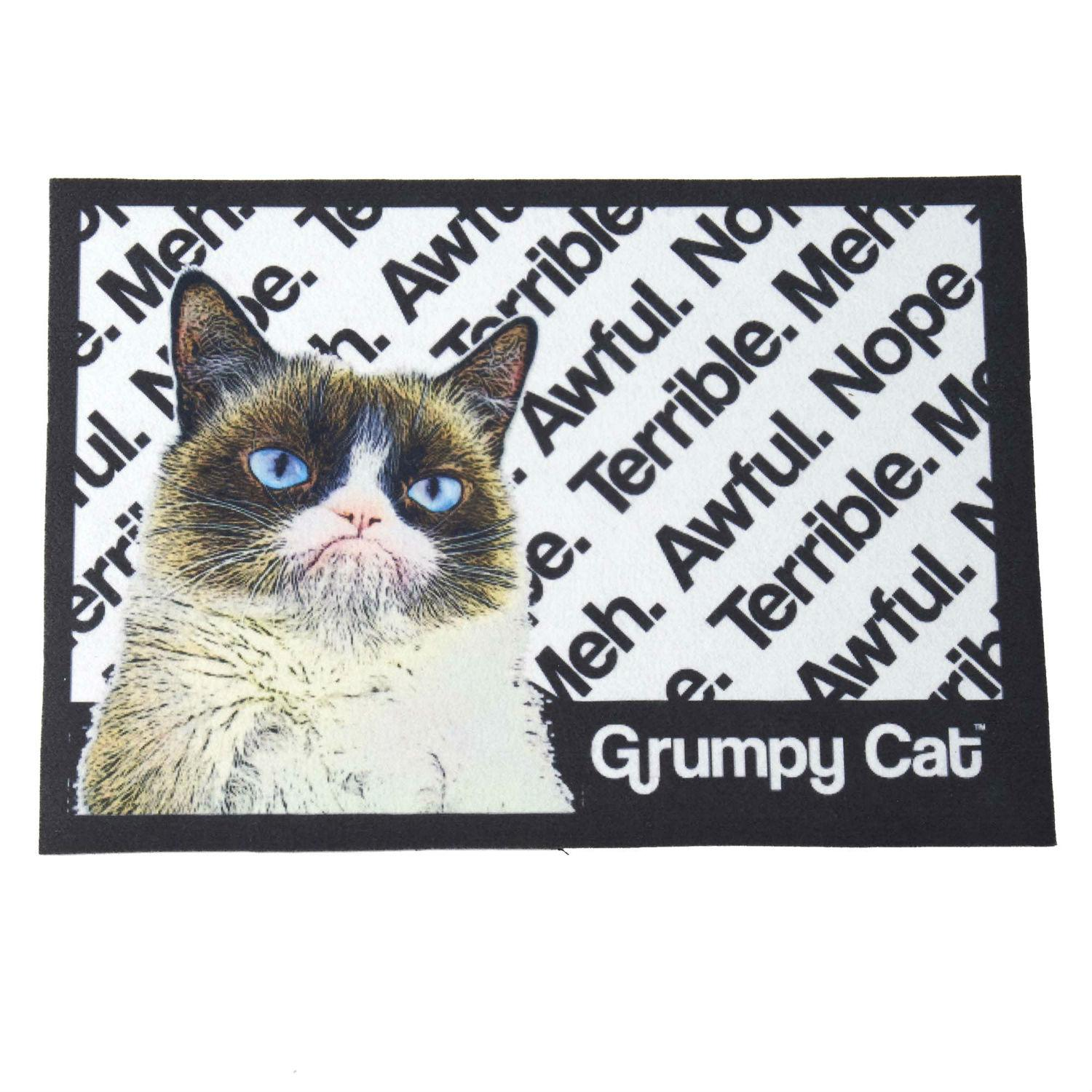 Grumpy Cat That was Terrible Tapestry Placemat