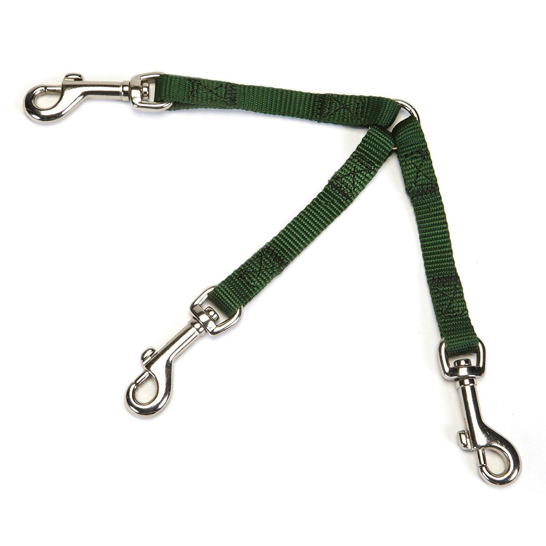 Guardian Gear 3-Way Coupler Dog Leash - Hunter Green
