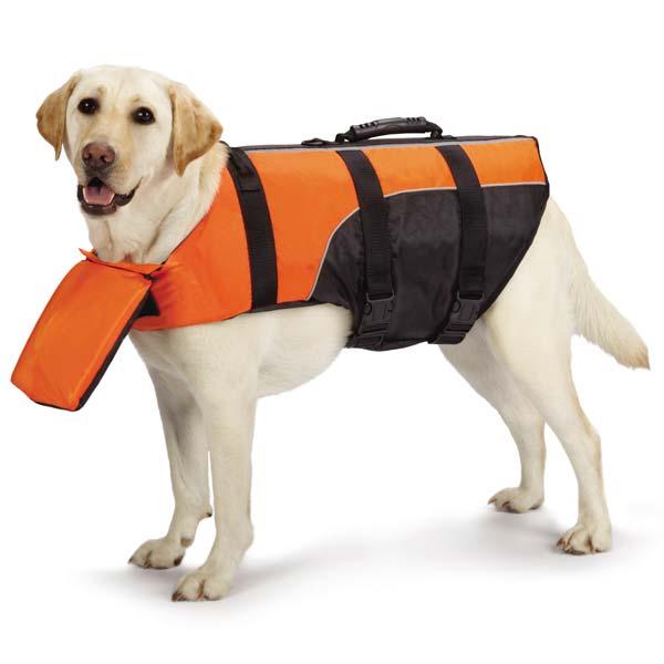 Guardian Gear Deluxe Pillow Pet Life Preserver - Orange
