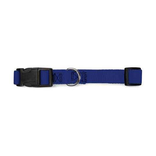 Guardian Gear Nylon Brites Dog Collar - Blue
