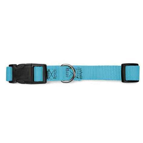 Guardian Gear Nylon Brites Dog Collar - Atlantic Teal Blue