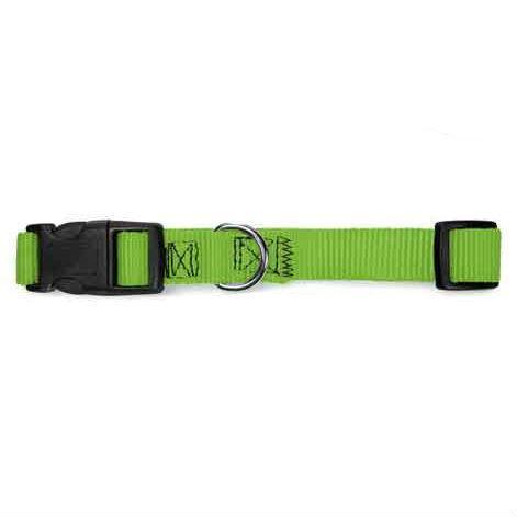 Guardian Gear Nylon Brites Dog Collar - Neon Green
