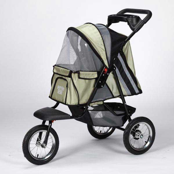 Guardian Gear Sprinter EXT II Dog Stroller - Sage Green