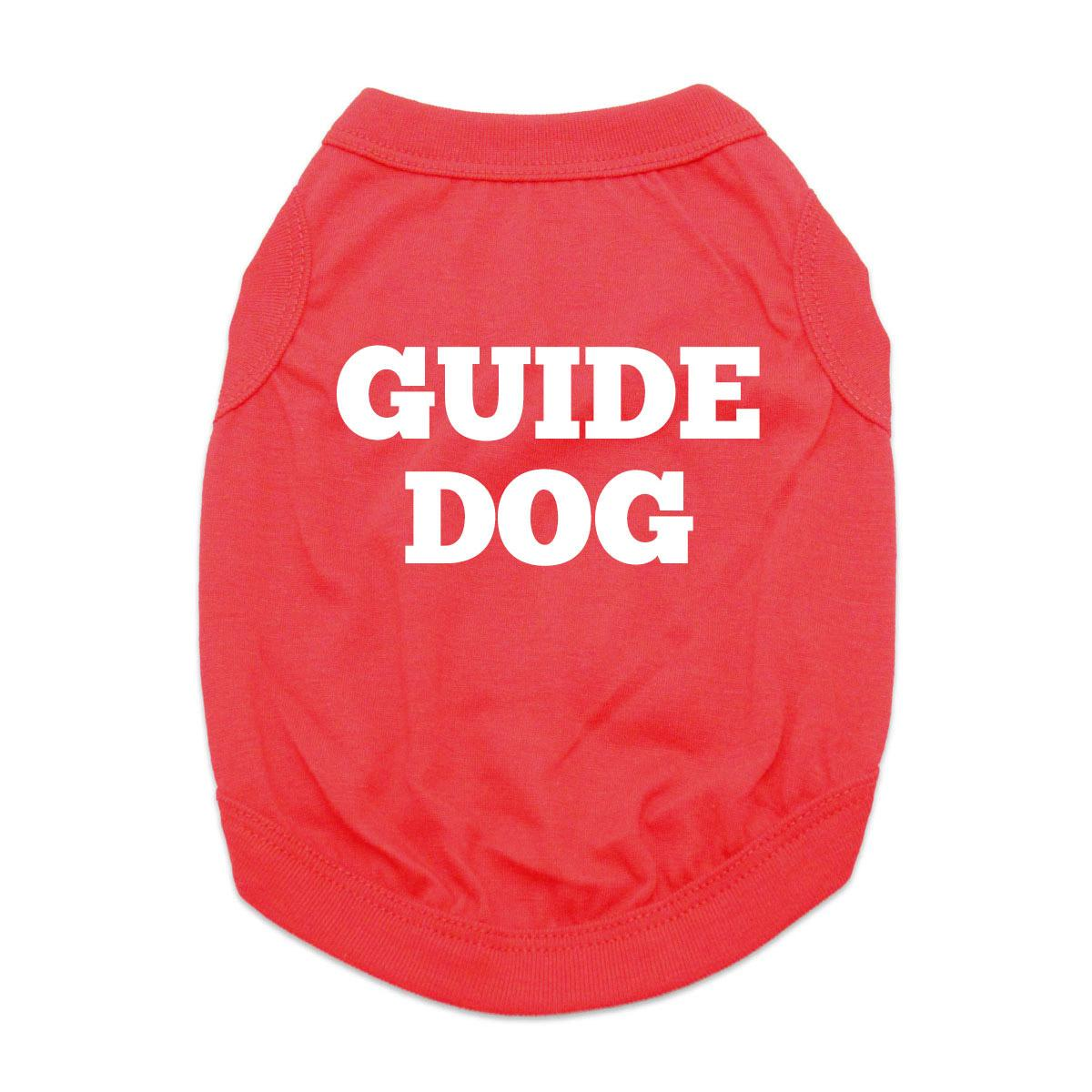 Guide Dog Shirt - Red