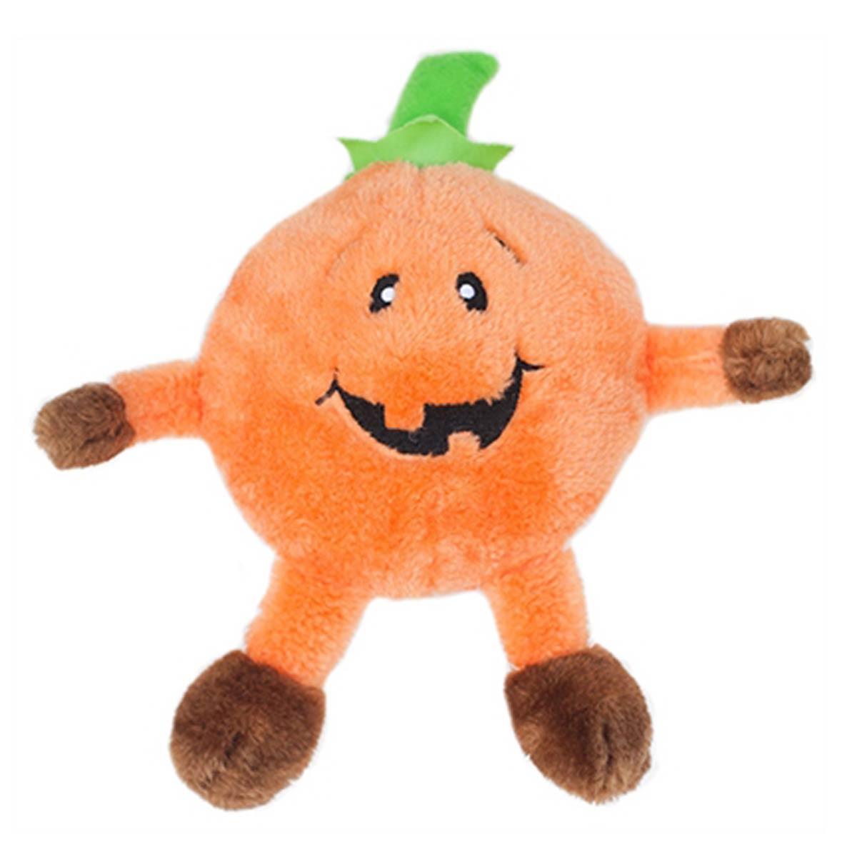 Halloween Brainey Dog Toy - Pumpkin