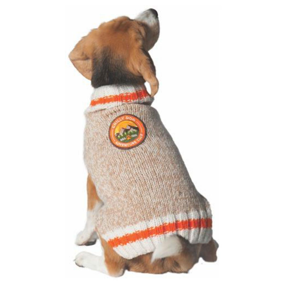Handmade Adventure Club Wool Dog Sweater