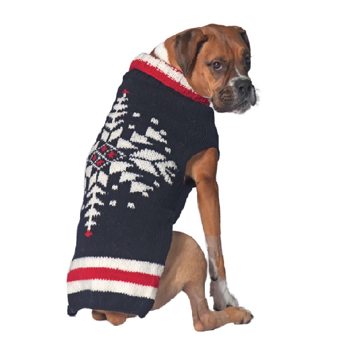 Handmade Nordic Ski Team Wool Dog Sweater