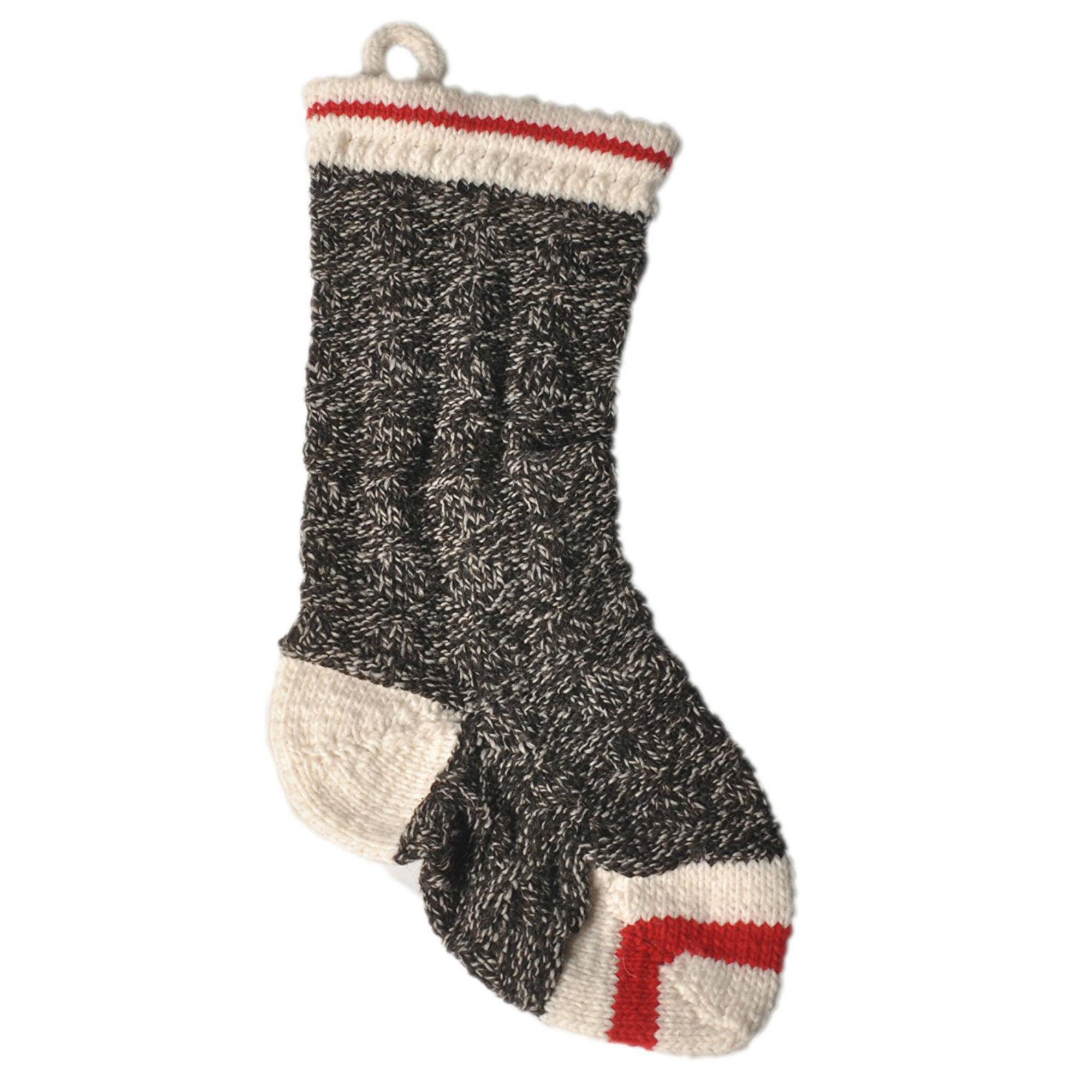 Handmade Wool Christmas Dog Stocking - Boyfriend