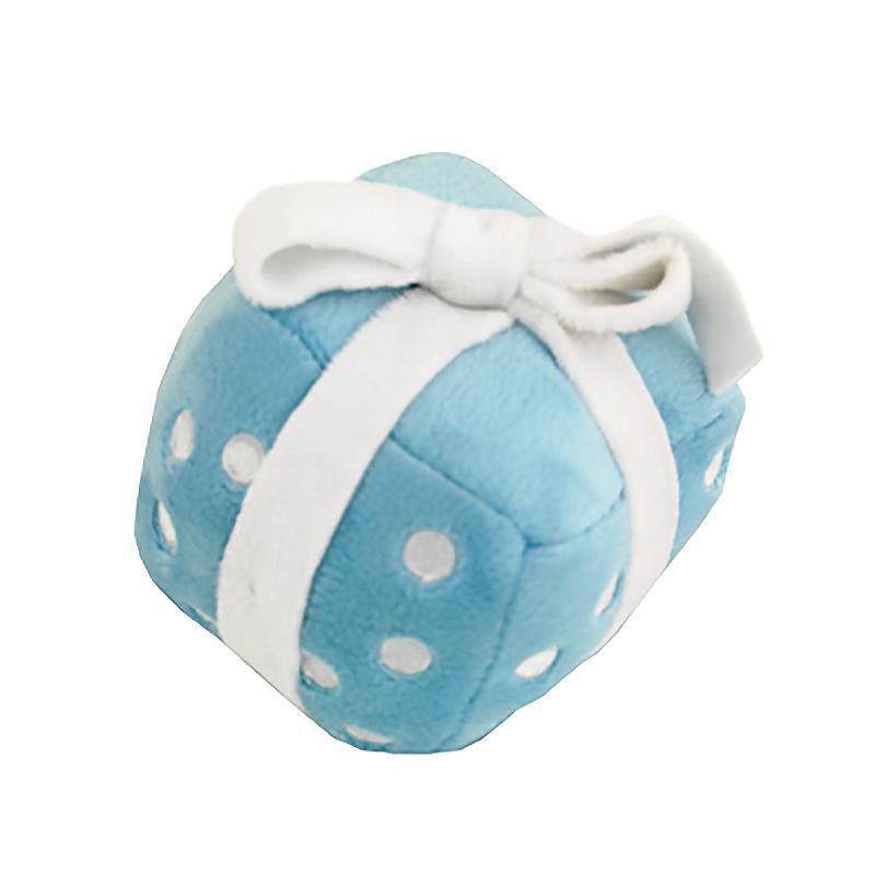 Happy Birthday Gift Dog Toy by Hip Doggie - Blue