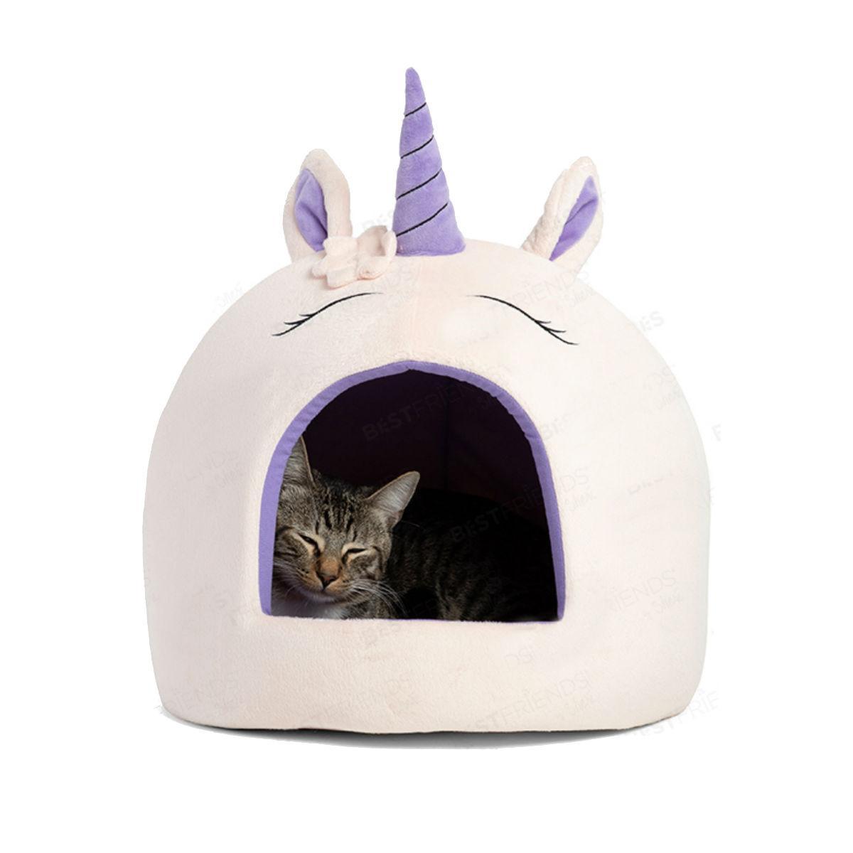 Unicorn Novelty Hut Pet Bed