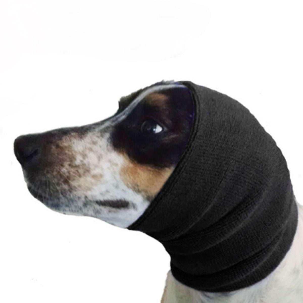 Happy Hoodie Dog Snood - Black