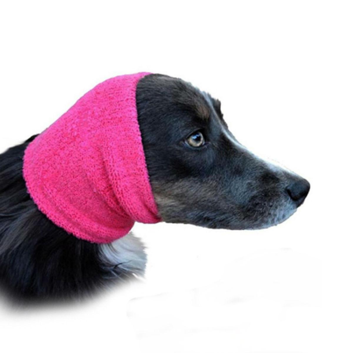 Happy Hoodie Dog Snood - Pink