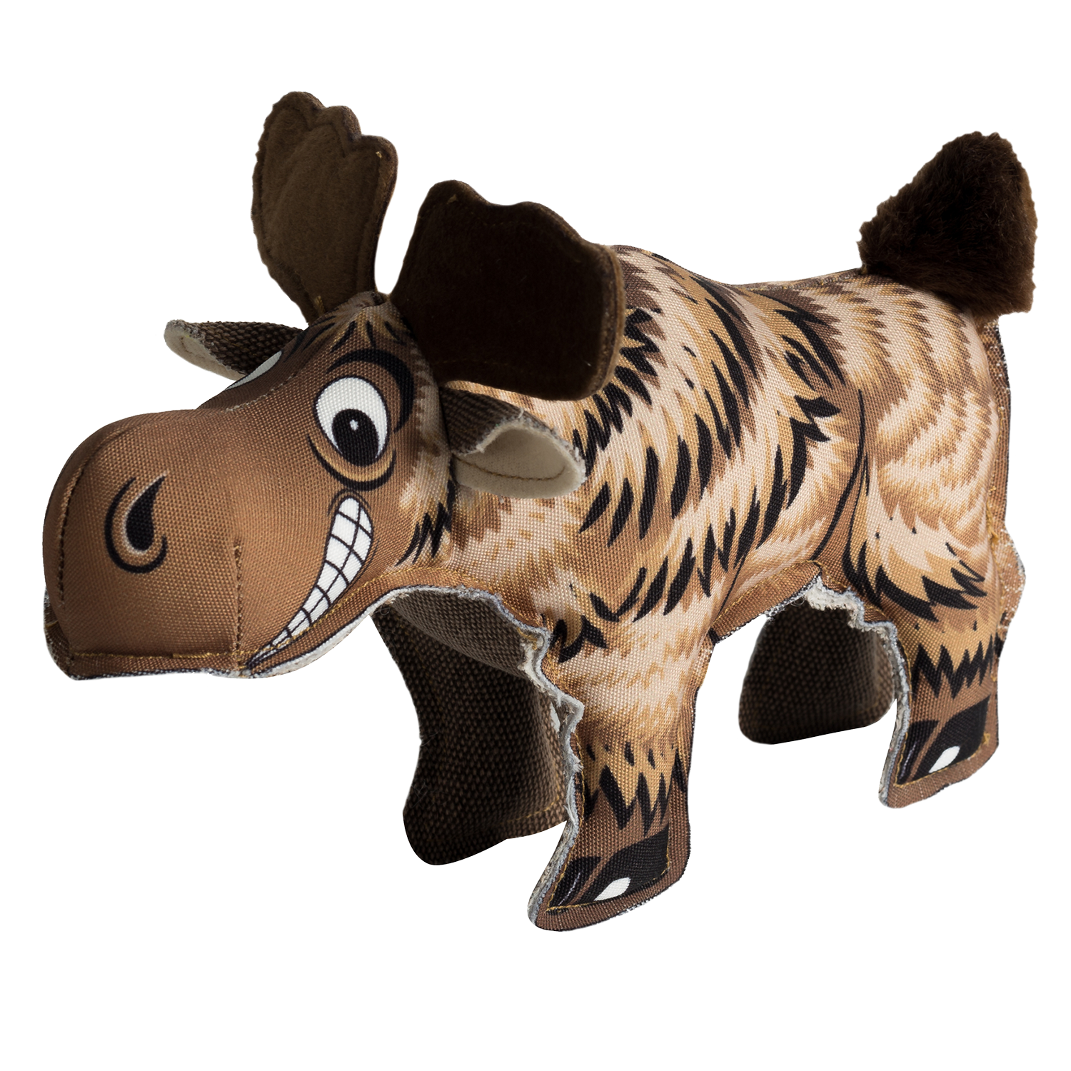 Happy Tails Critterz Canvas Dog Toy - Moose