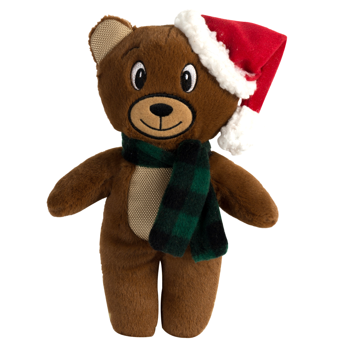 Happy Tails Holiday Durable Dog Toy - Christmas Bear