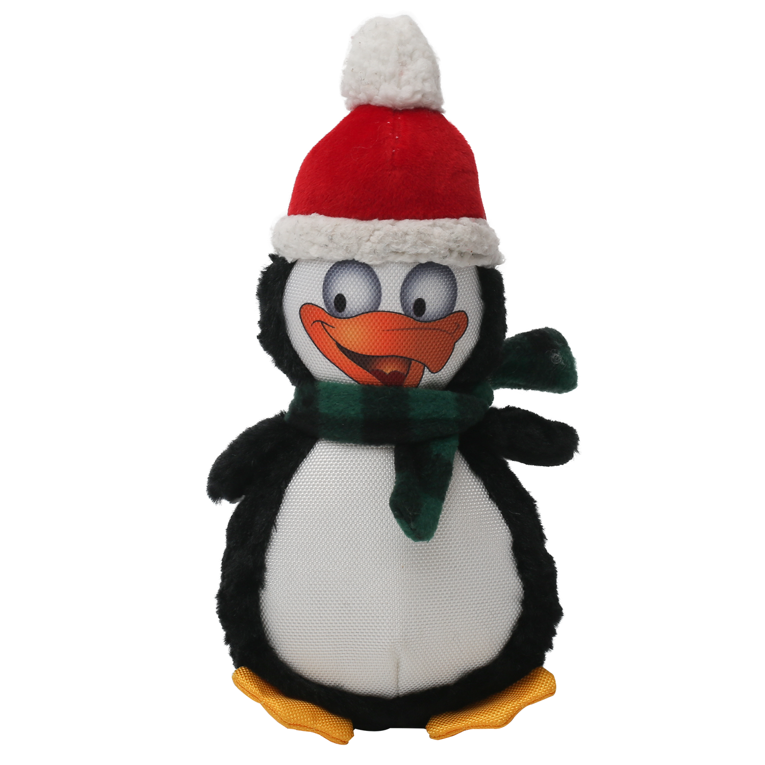 Happy Tails Holiday Durable Dog Toy - Penguin