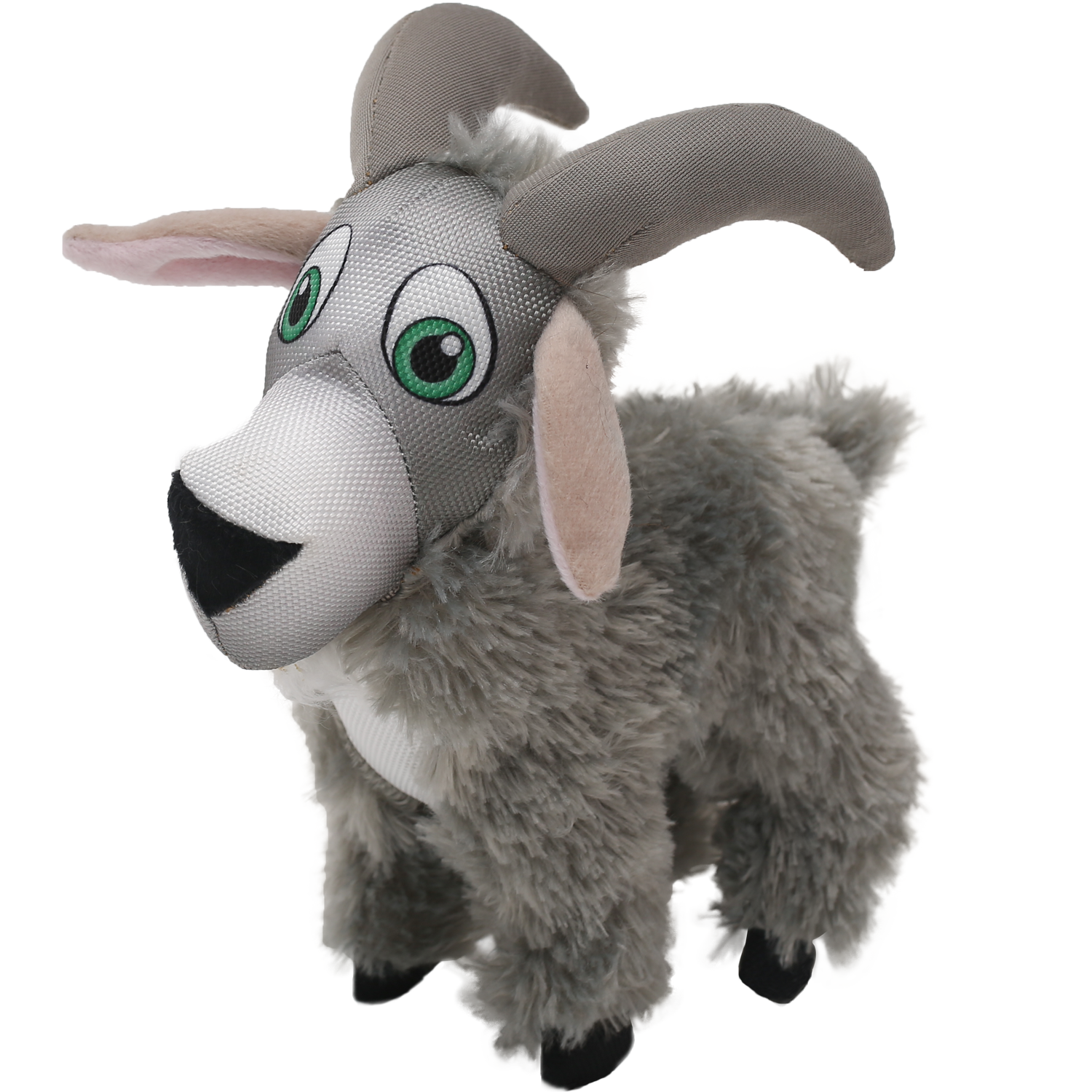 Happy Tails Loonies Durable Dog Toy - Goat