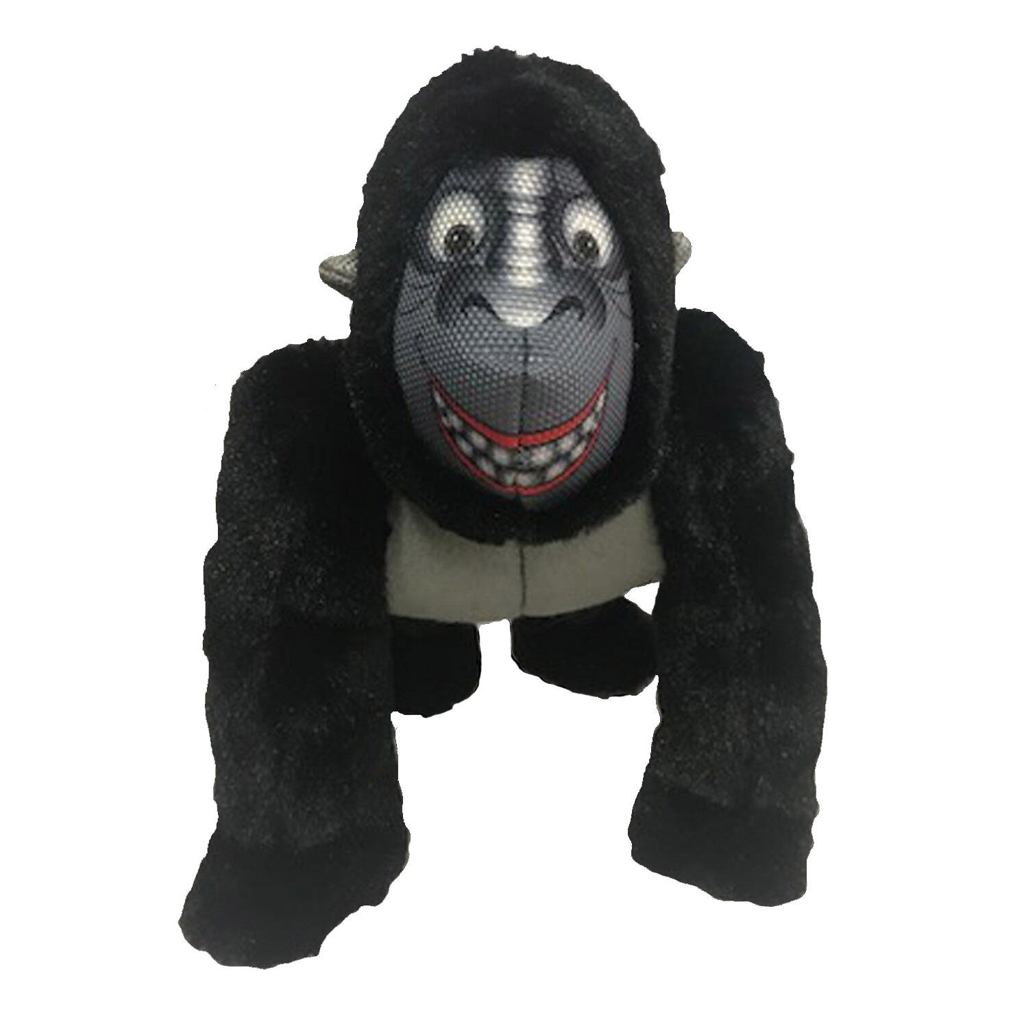 Happy Tails Loonies Durable Dog Toy - Gorilla