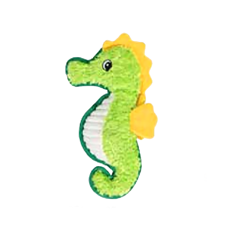 Happy Tails Ruff's Durable Dog Toy - Seahorse