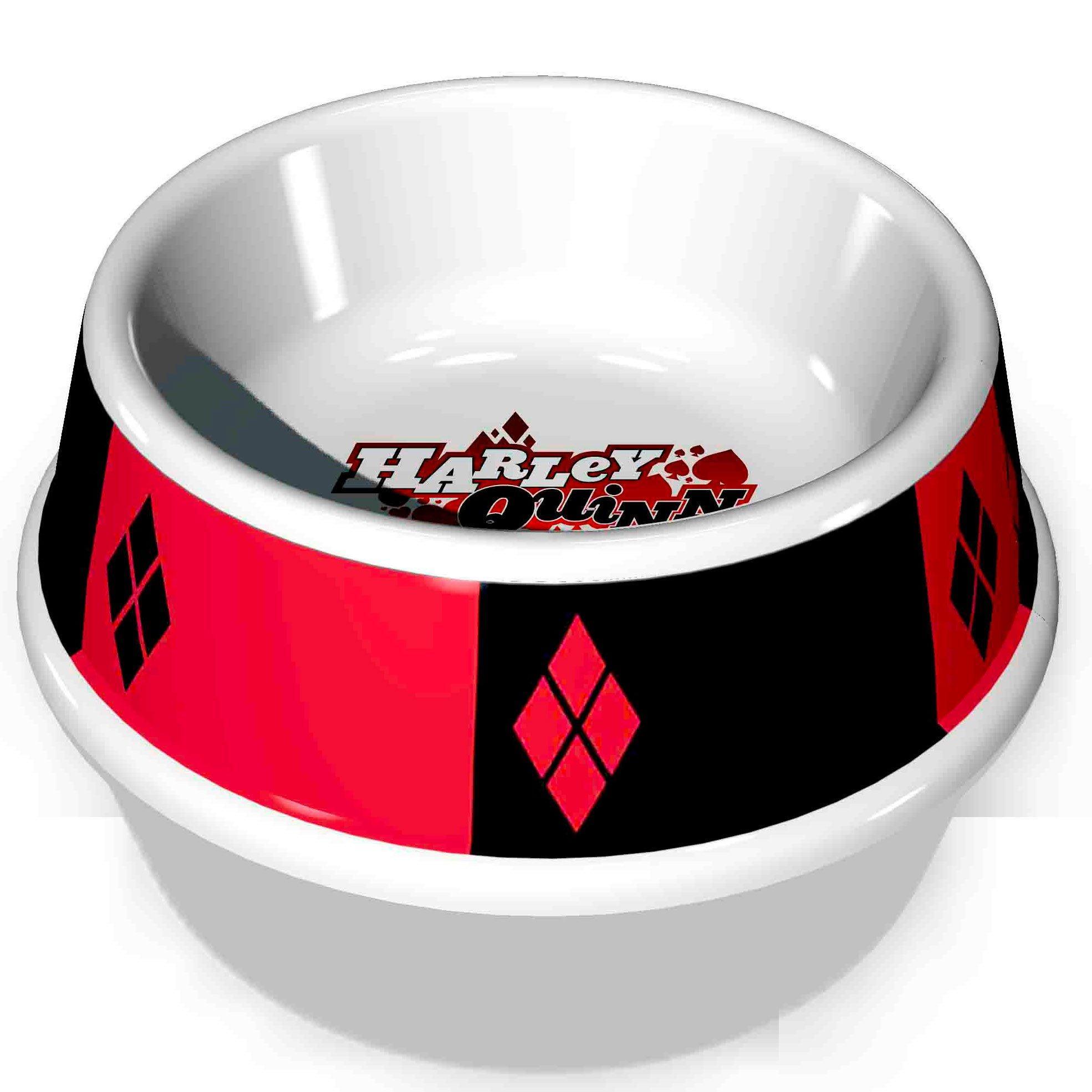 Harley Quinn Pet Food Bowl by Buckle-Down
