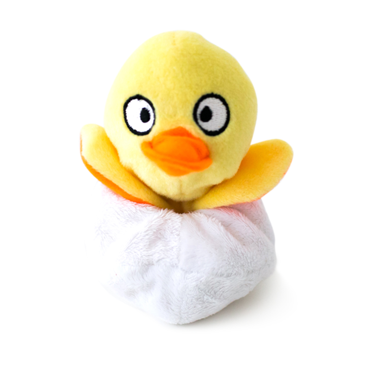 Hatchables Dog Toy - Yellow Duck