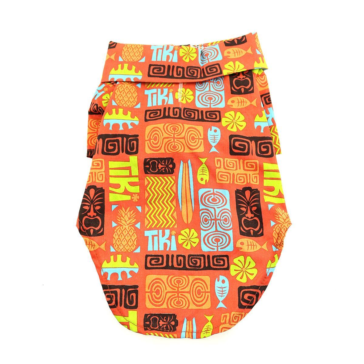 Hawaiian Camp Shirt by Doggie Design - Tiki