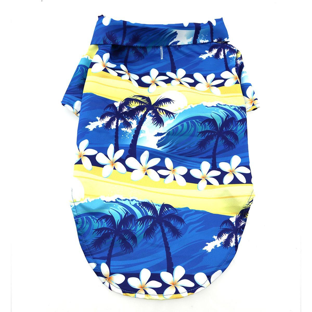 Hawaiian Camp Shirt by Doggie Design - Catching Waves