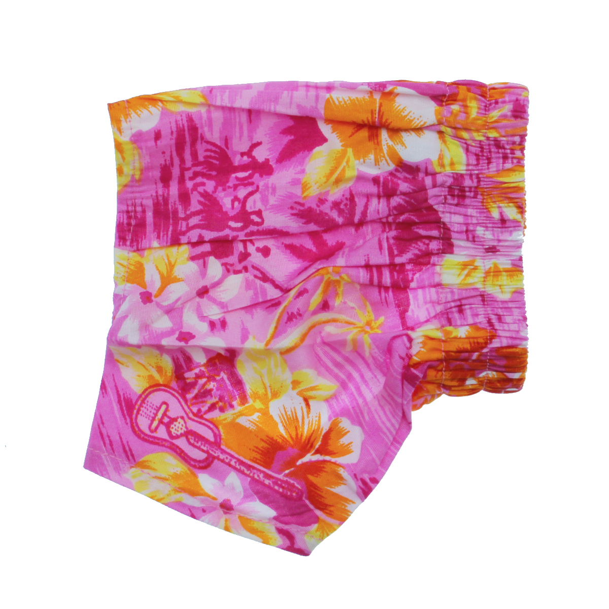 Hawaiian Swim and Board Dog Trunks - Pink