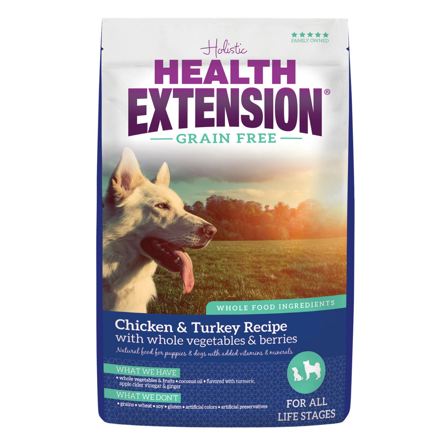 Health Extension Grain Free Dry Dog Food - Chicken & Turkey