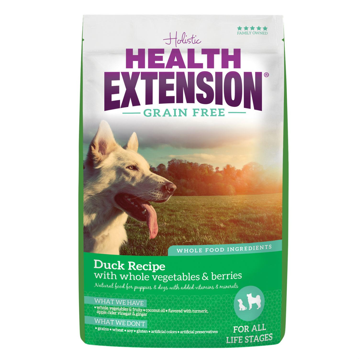 Health Extension Grain Free Dry Dog Food - Duck