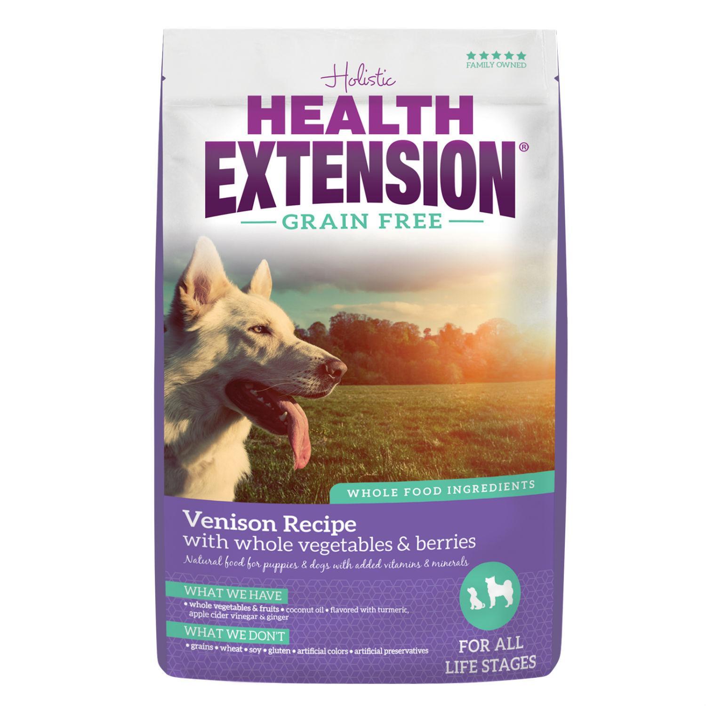 Health Extension Grain Free Dry Dog Food - Venison