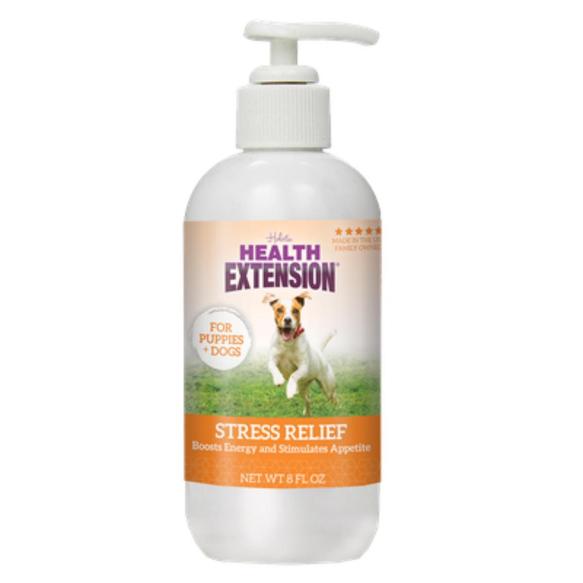 Health Extension Stress Relief Drops Dog Food Topper