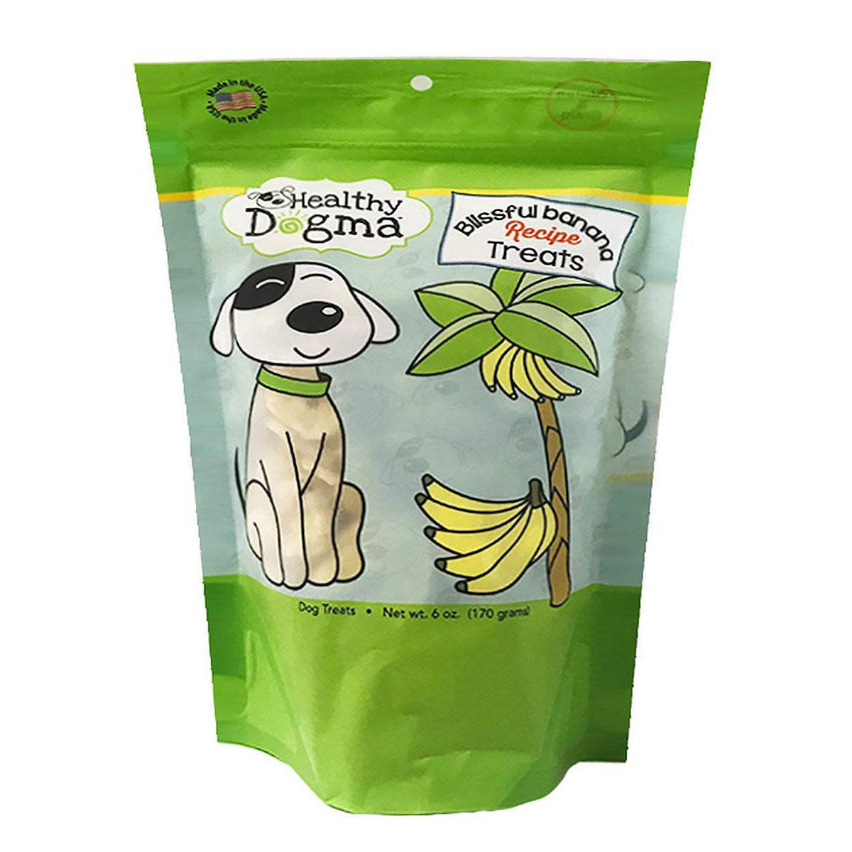 Healthy Dogma Blissful Banana Crisps Dog Treat