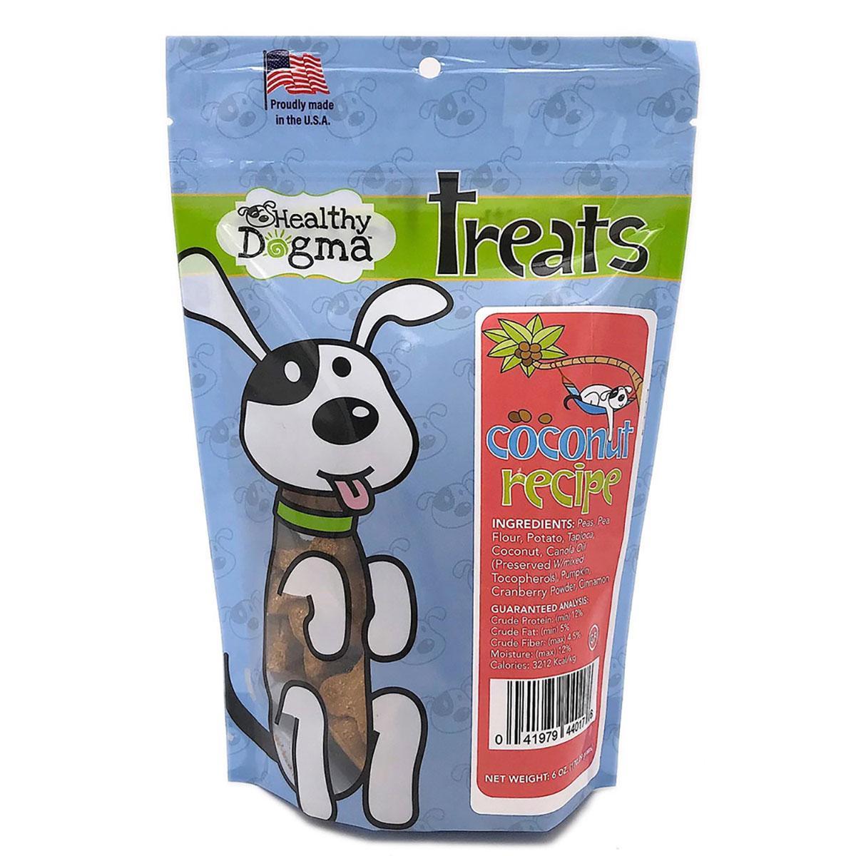 Healthy Dogma Coconut Recipe Dog Bones Treat