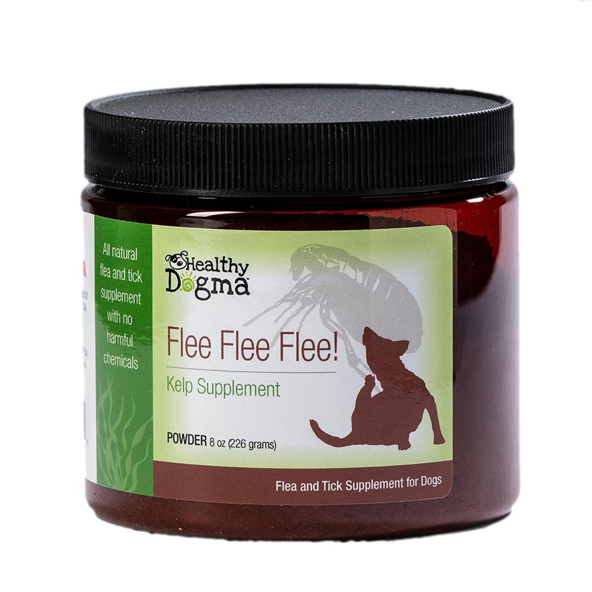 Healthy Dogma Flee Flea Flee Natural Yeast & Garlic Formula Dog Supplement