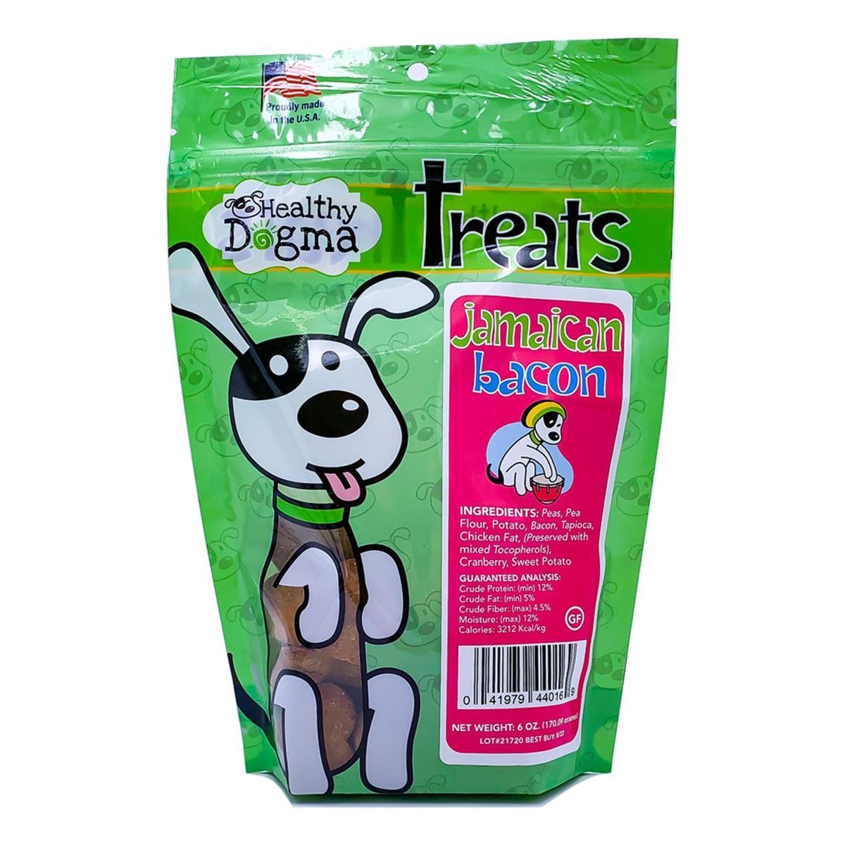 Healthy Dogma Jamaican Bacon Hearts Dog Treats