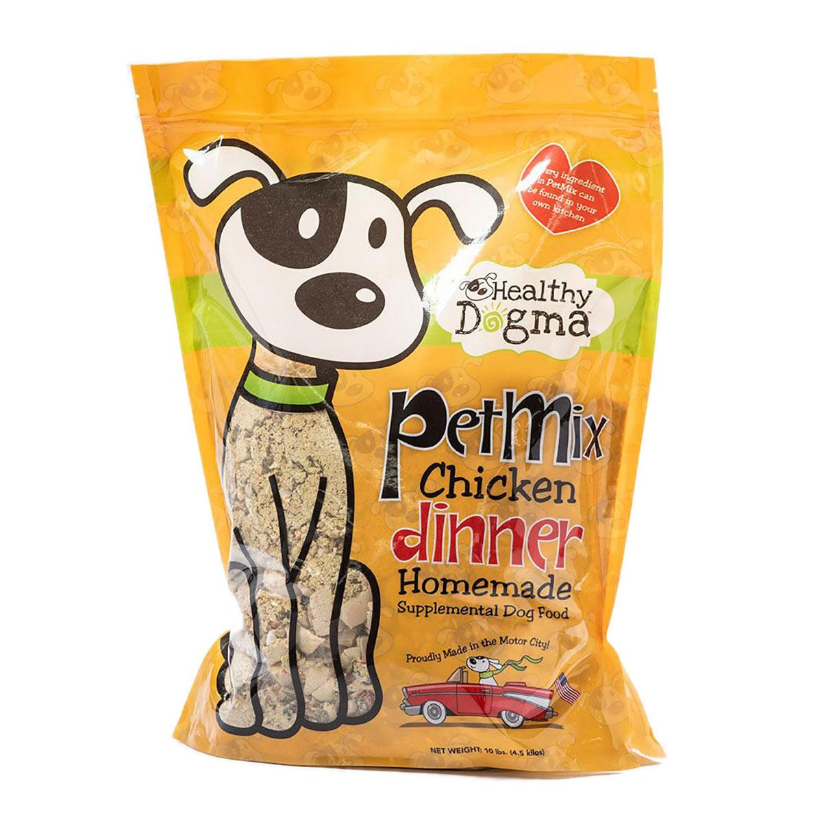 Healthy Dogma PetMix Chicken Dinner Clean Recipe Dog Food