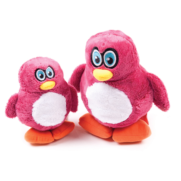 Hear Doggy Plush Dog Toy - Penguin