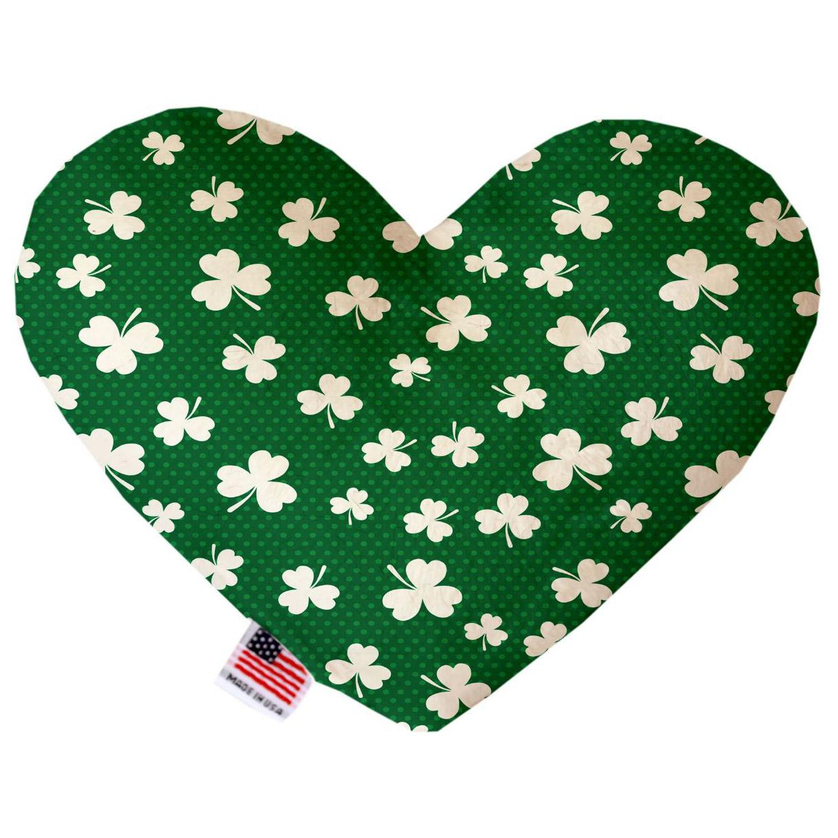 Heart Dog Toy - Shamrock