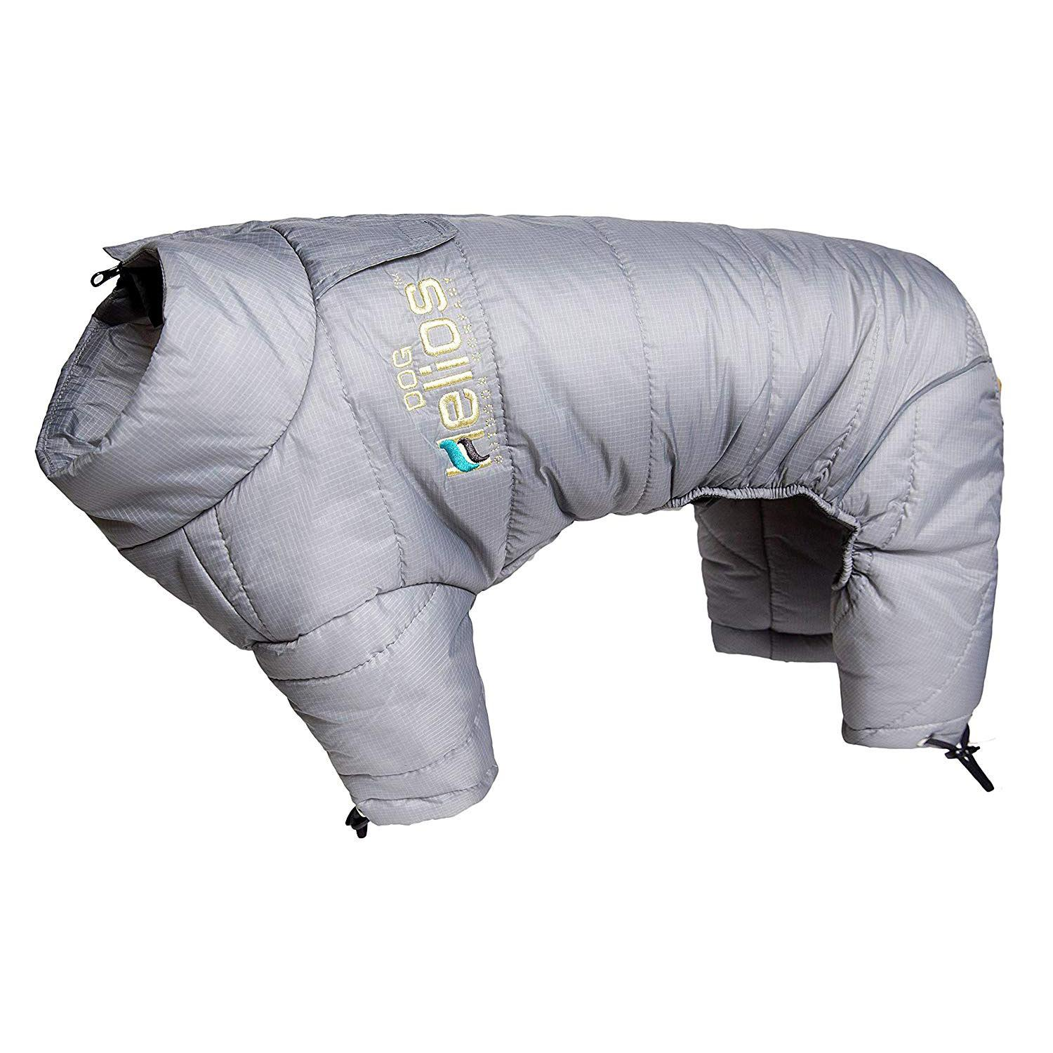Helios Thunder Full-Body Dog Coat - Grey