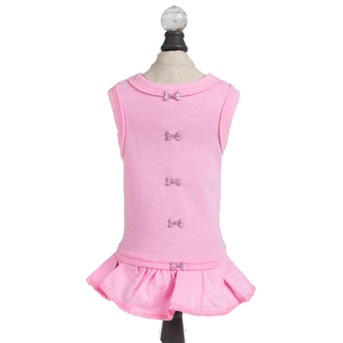 Hello Doggie Candy Dog Dress - Pink