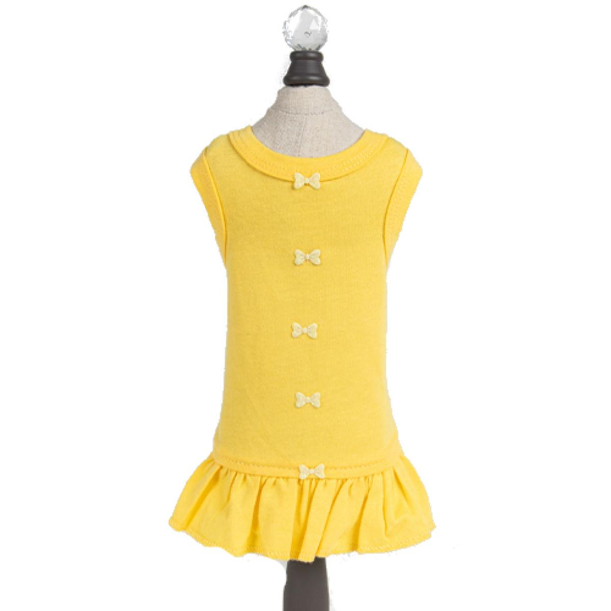 Hello Doggie Candy Dog Dress - Yellow