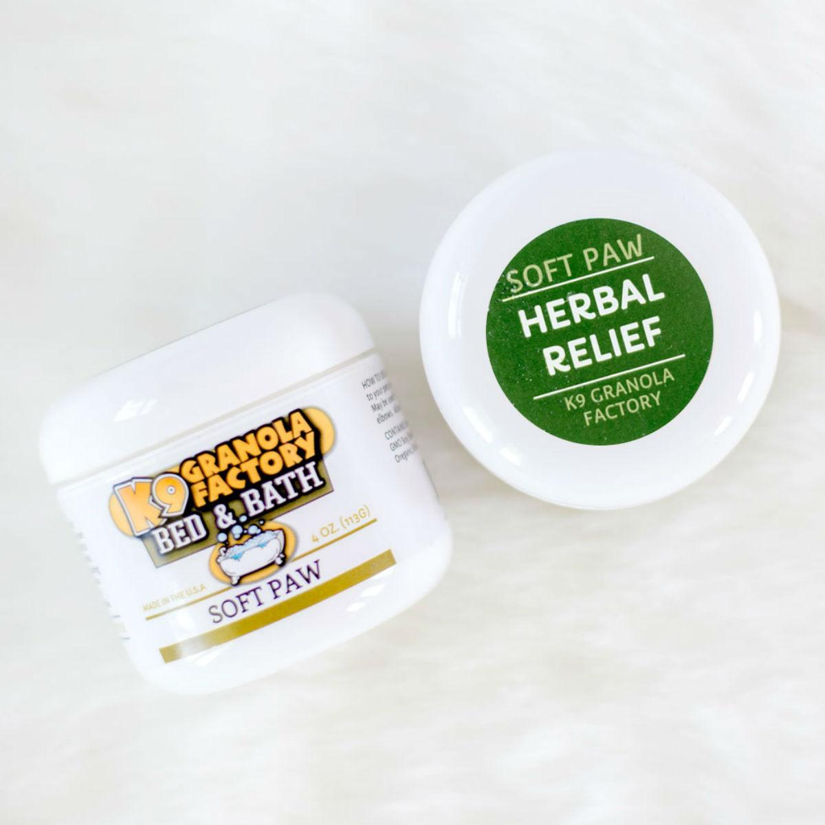 K9 Granola Factory Herbal Relief Dog Soft Paw Repair Treatment